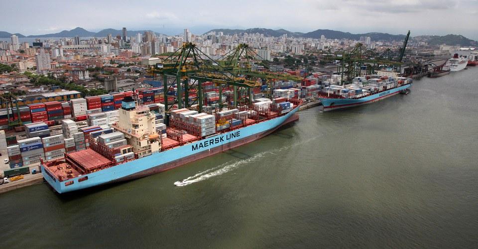 'Está faltando carga', diz diretor da Maersk