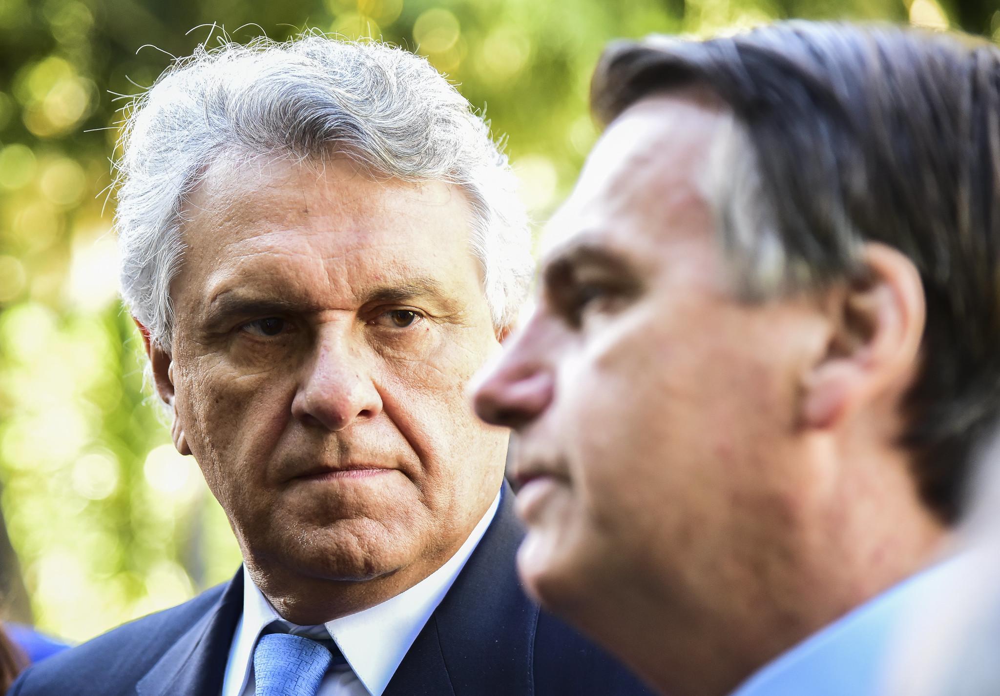 Caiado pede em Brasília o cancelamento da concessão da Enel em Goiás