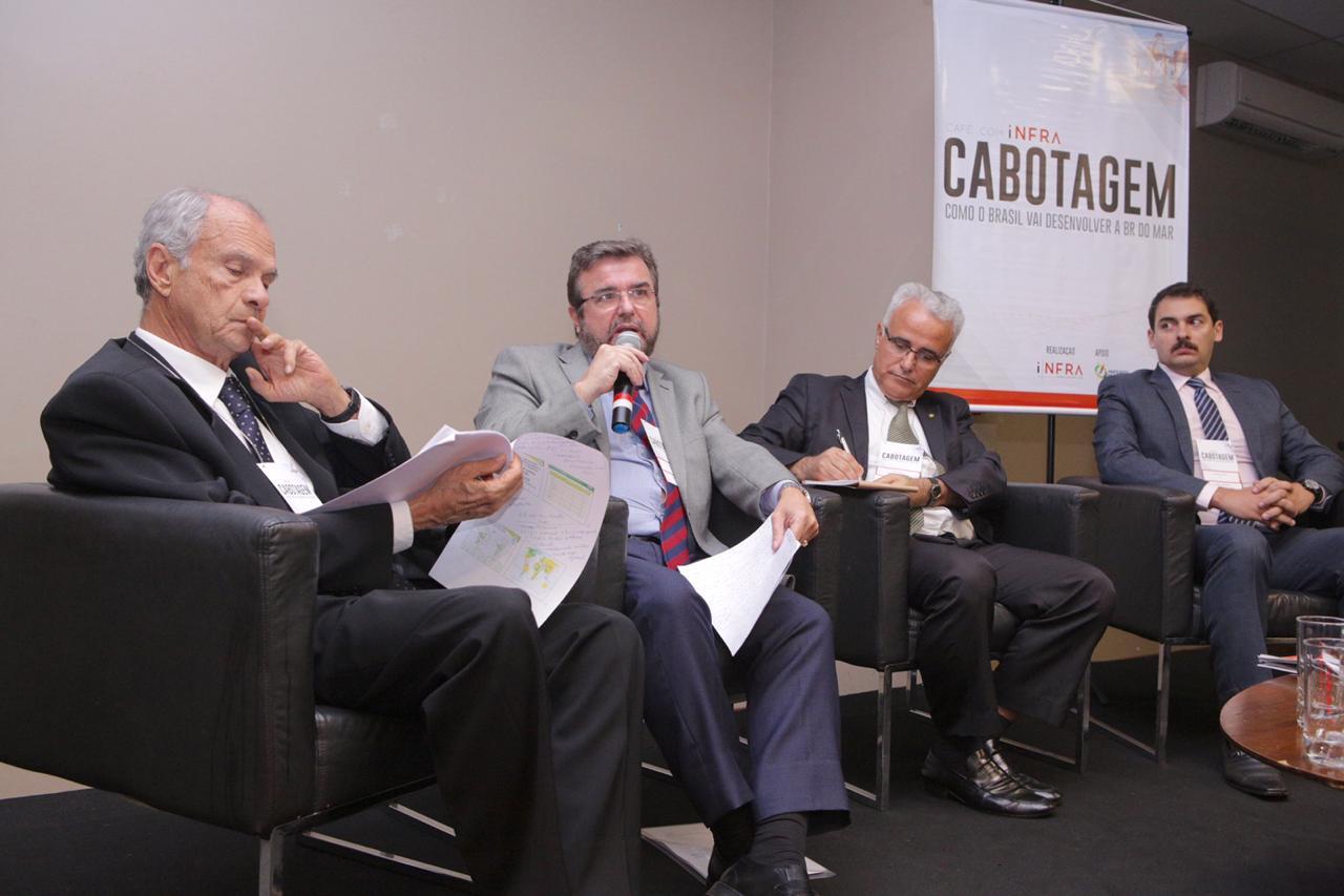 Contestando mercado fechado, diretor da ANTAQ diz que cabotagem precisa de fomento ao setor
