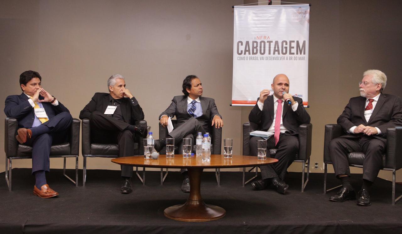 Café com iNFRA: Público lota evento que debateu incentivo à cabotagem no Brasil