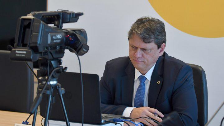 É hoje: iNFRALive com o ministro da Infraestrutura, Tarcísio de Freitas