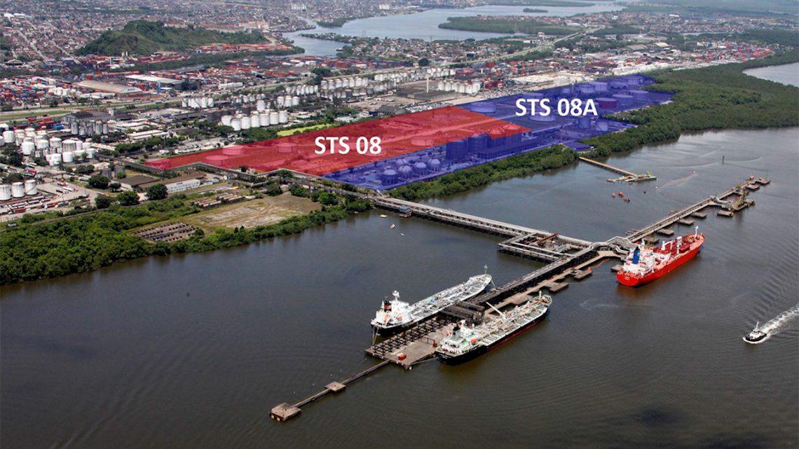 ANTAQ aprova minutas de edital para terminais de líquidos STS08 e STS08A, no Porto de Santos