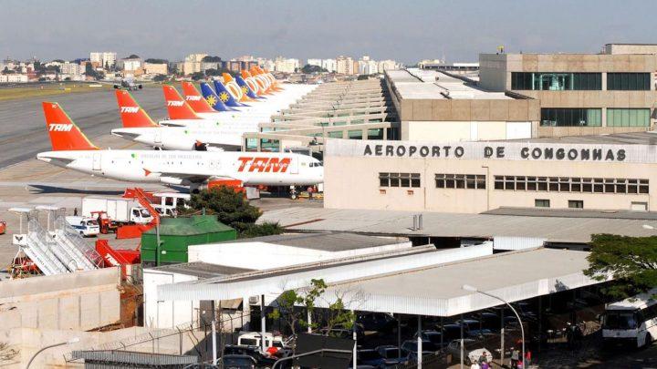 Governo abre estudos para desestatizar aeroportos de Congonhas (SP), Santos Dumont (RJ) e Belém (PA)