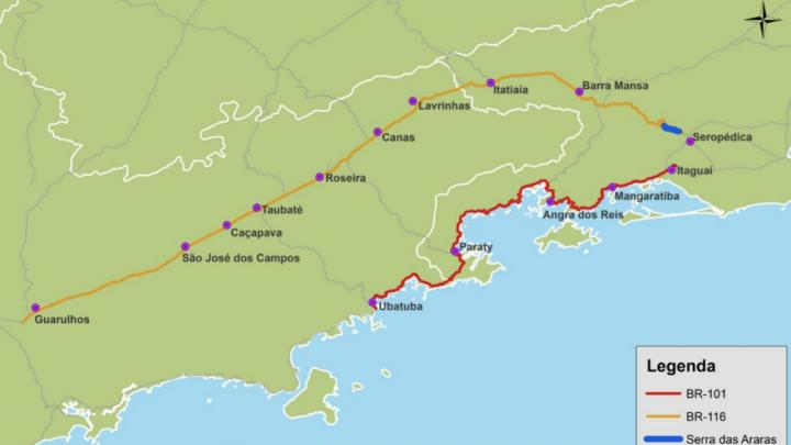 Concessão rodoviária SP-RJ amplia prazo de obra para melhorar financiamento do projeto