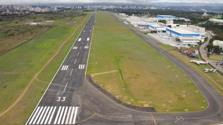 Governo retira aeroporto de São José dos Campos de estudos para concessão