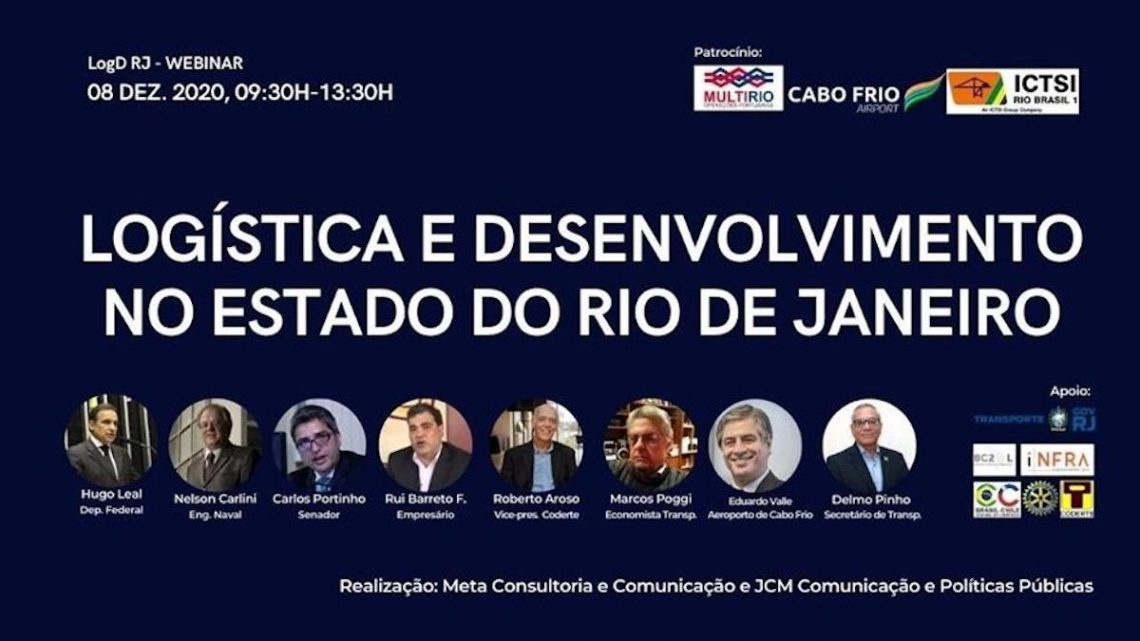 Infraestrutura logística no estado do RJ é tema de seminário