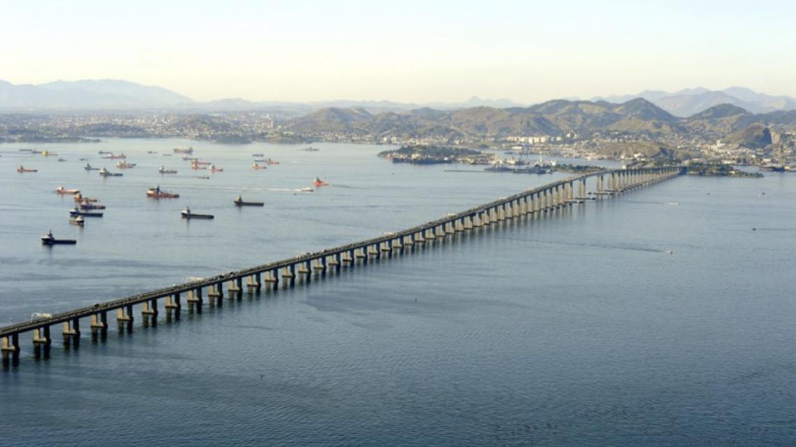 Ponte Rio-Niterói terá restrição para veículos de carga a partir de 12 de maio