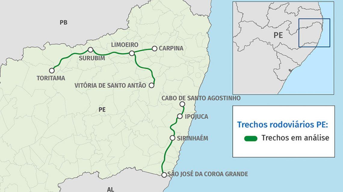 Pernambuco tenta primeira concessão rodoviária brownfield agregando novidades regulatórias